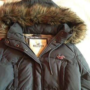 Hollister Winter Weathered Jacket